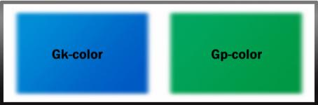 Варіанти кольорів для ігрового поля тенісного стола