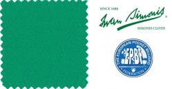 Сукно Iwan Simonis Yellow Green 760